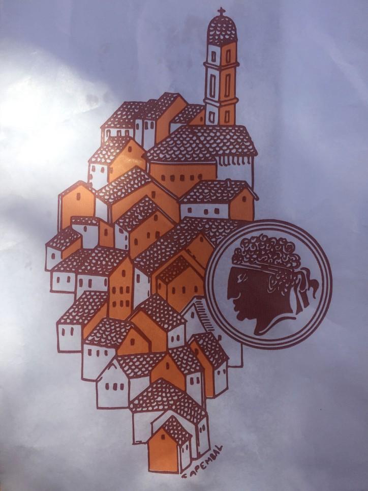 Schattenplatz in Calvi
