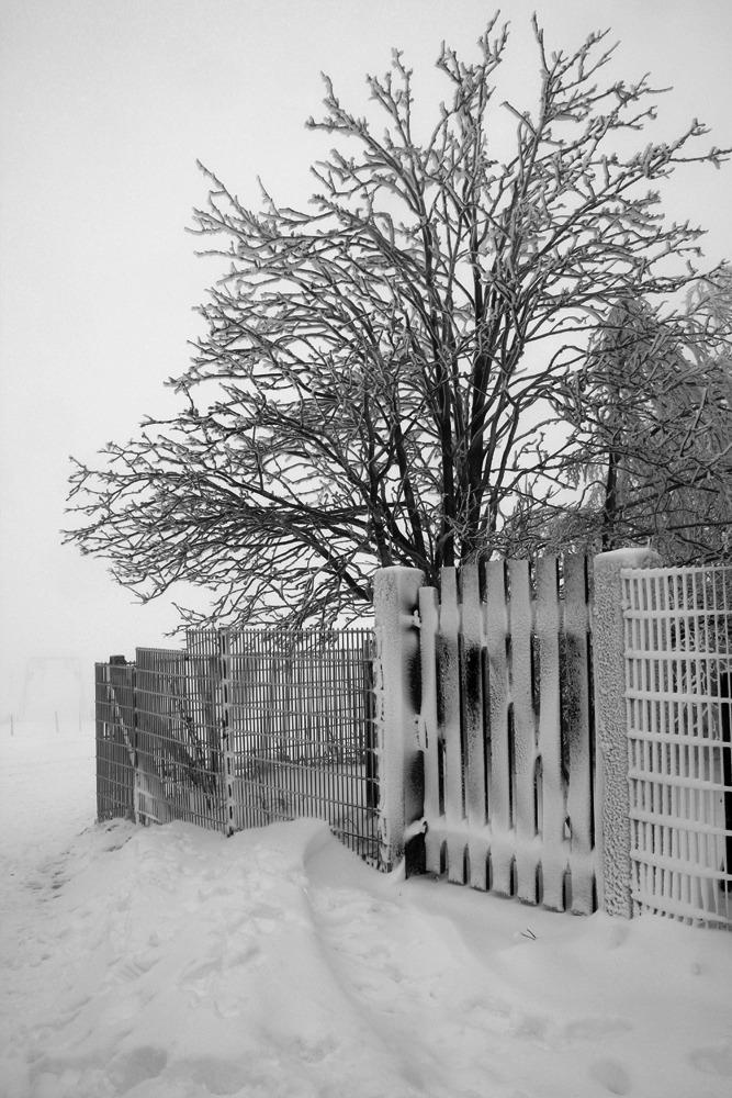 Schnee in Hessen