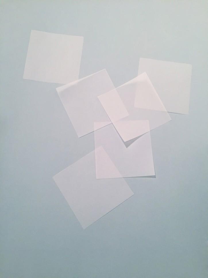 Papierquadrate
