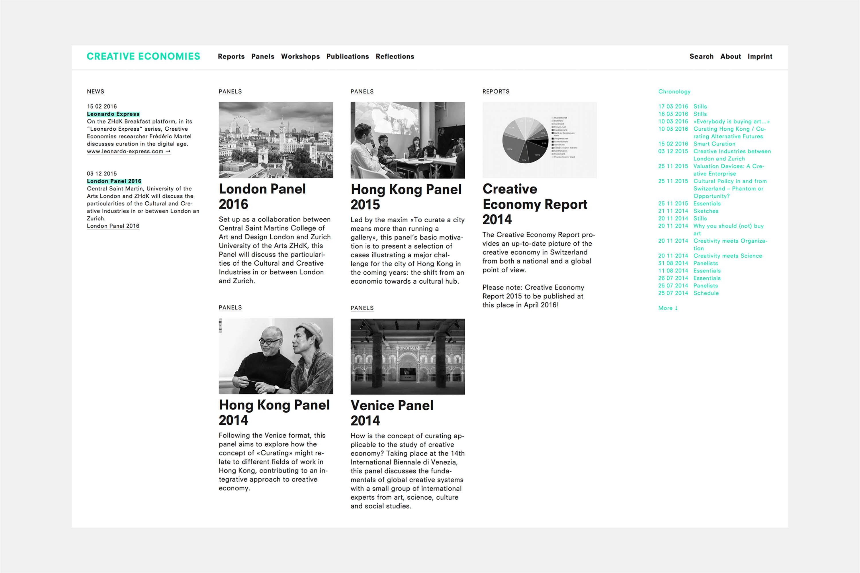 Creative Economies / Research Venue 1