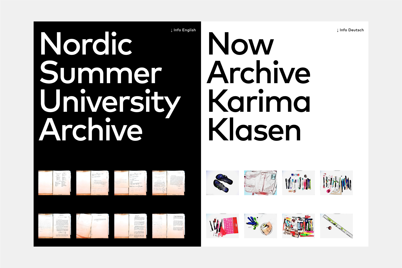 Now Archive Karima Klasen 1