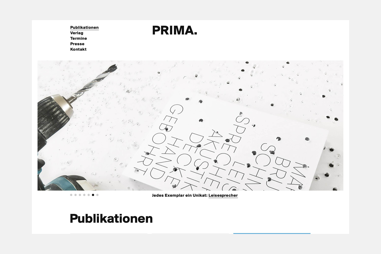 Prima.Publikationen 1