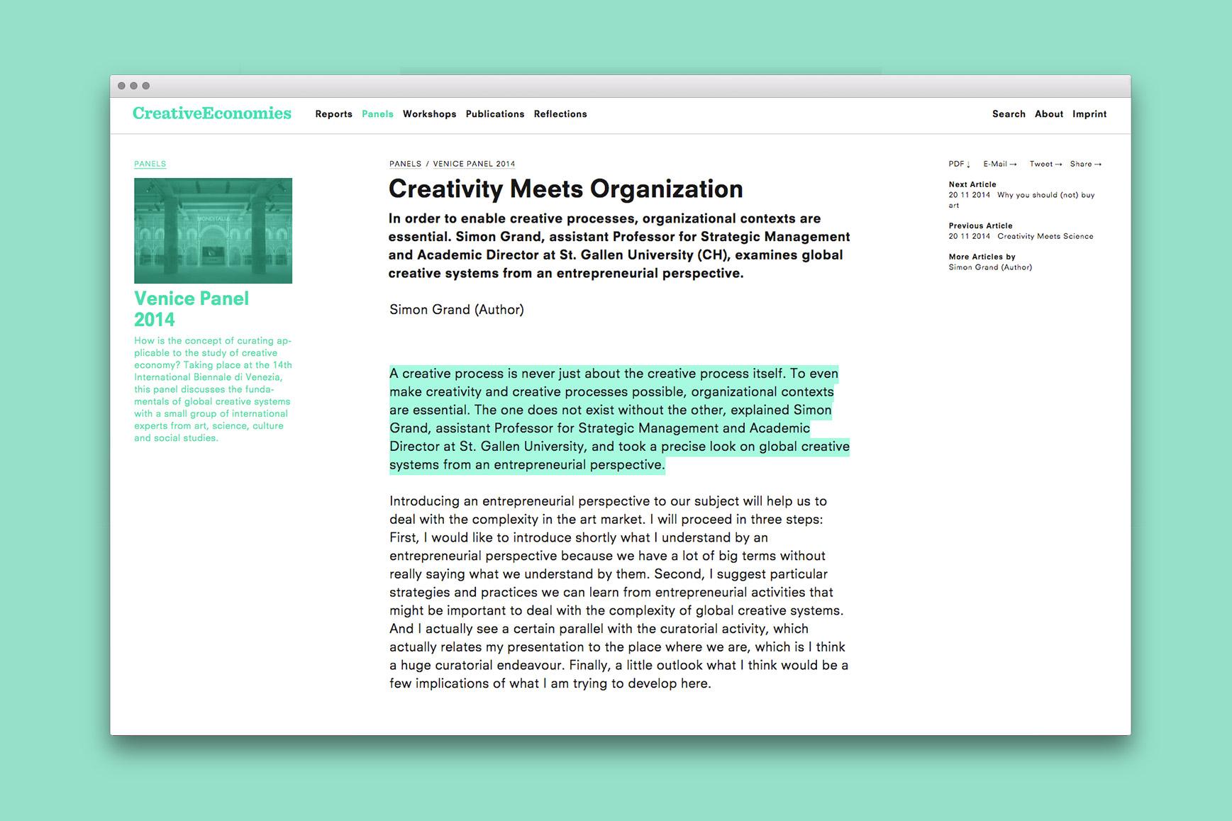 www.creativeeconomies.com 3