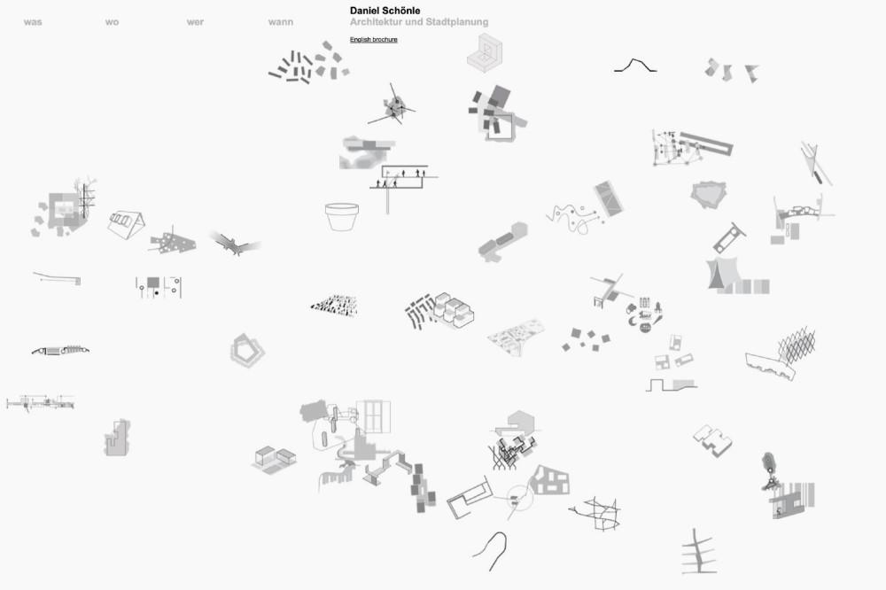 Büro Schönle, Architektur und Stadtplanung Website