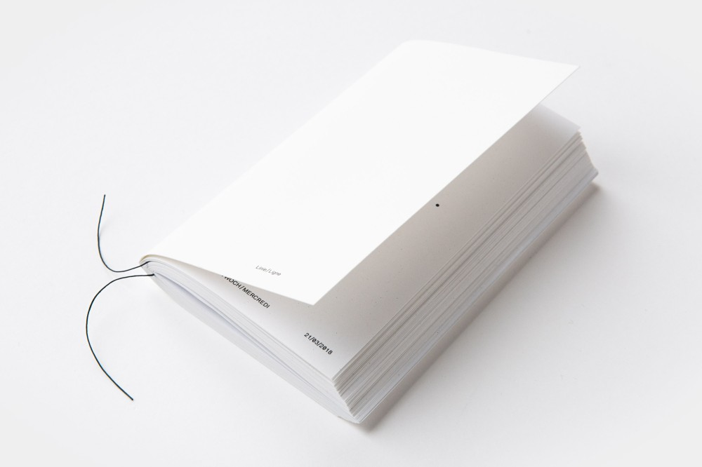 Linie/Ligne Künstlerbuch