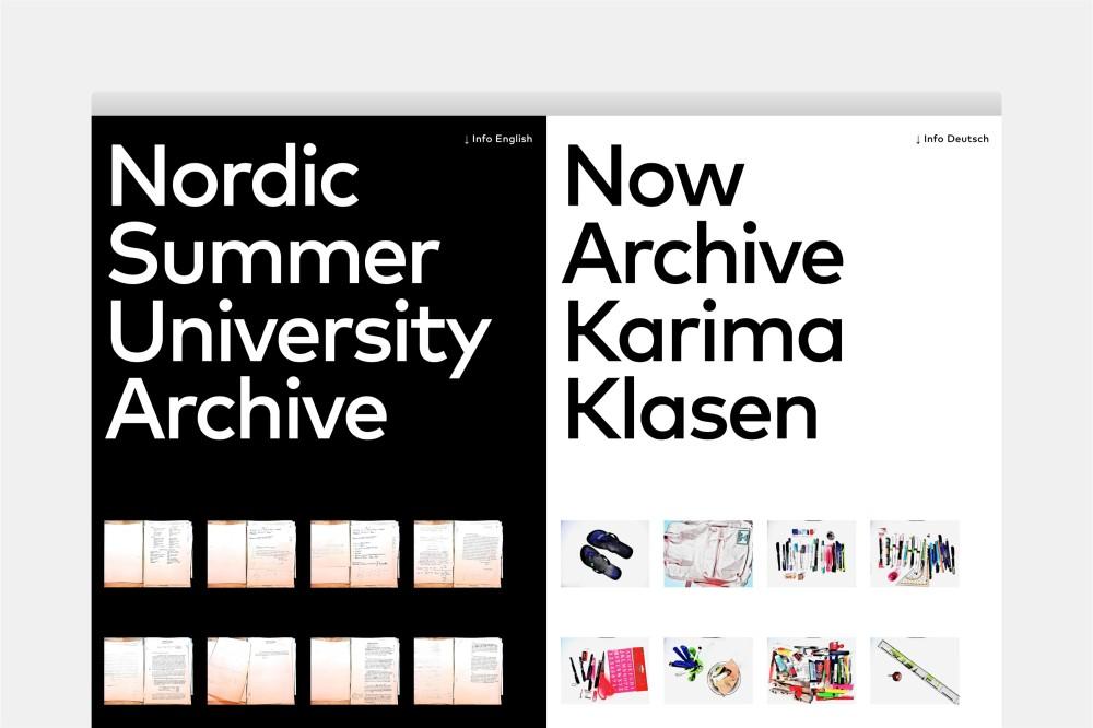 Now Archive Karima Klasen Virtuelle Ausstellung