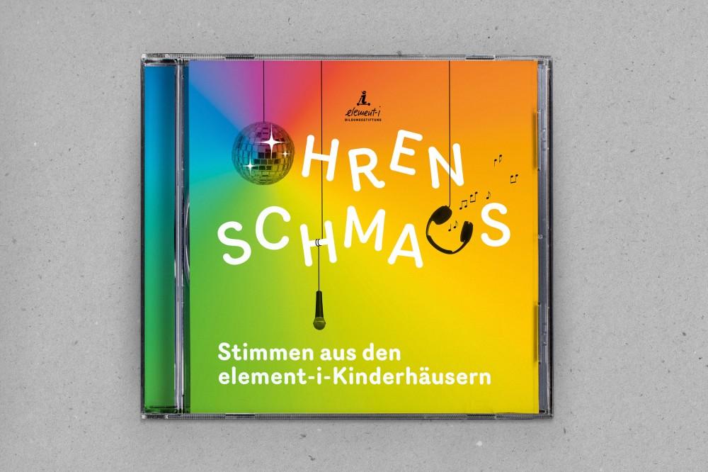 Ohrenschmaus Kinderlieder-CD, Plakat, Flyer