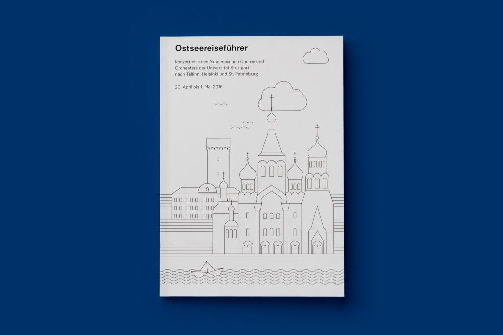Ostseereiseführer Unimusik Stuttgart auf Konzertreise