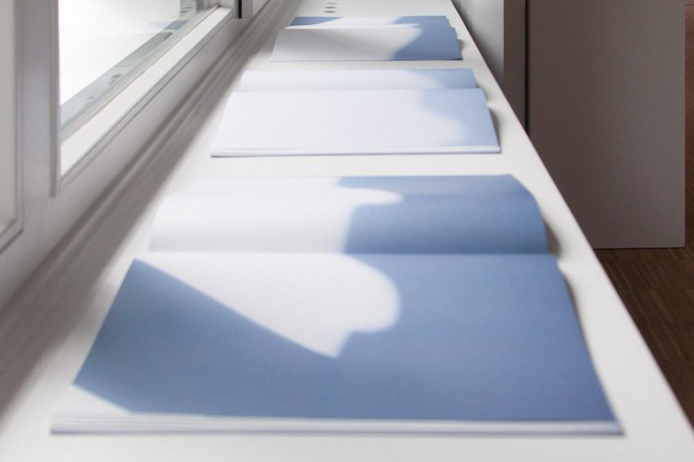 Schattenbücher Buch-Installation
