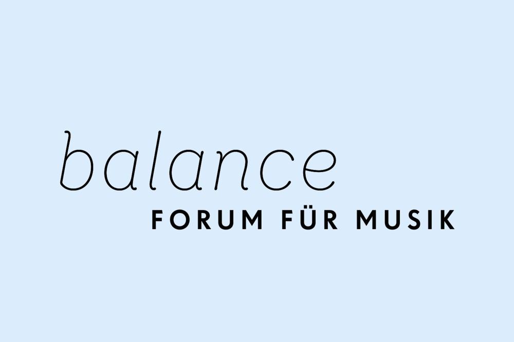 balance – Forum für Musik Erscheinungsbild