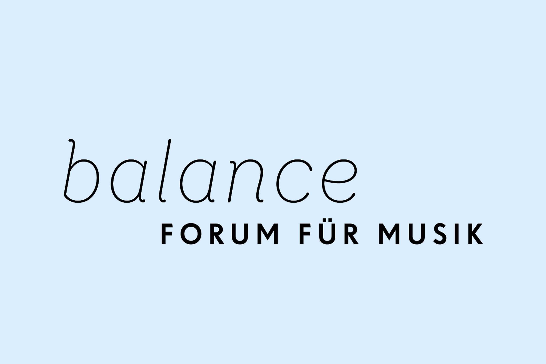 balance – Forum für Musik